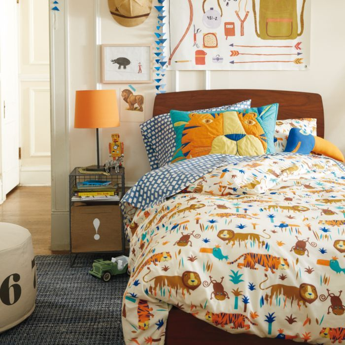 Safari Bedroom: Safari Themed Boys Bedroom
