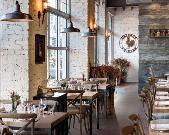 rustic restaurant interior industrial restaurant design vintage restaurant restaurant interiors restaurant ideas farmhouse restaurant bar interior - Farmhouse Restaurant Ideas
