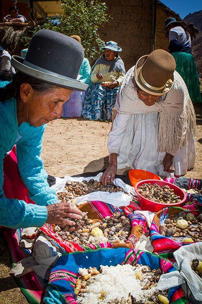 personas en Bolivia