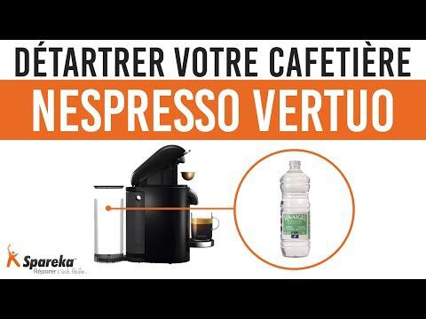 Comment détartrer votre cafetière Nespresso Vertuo pour
