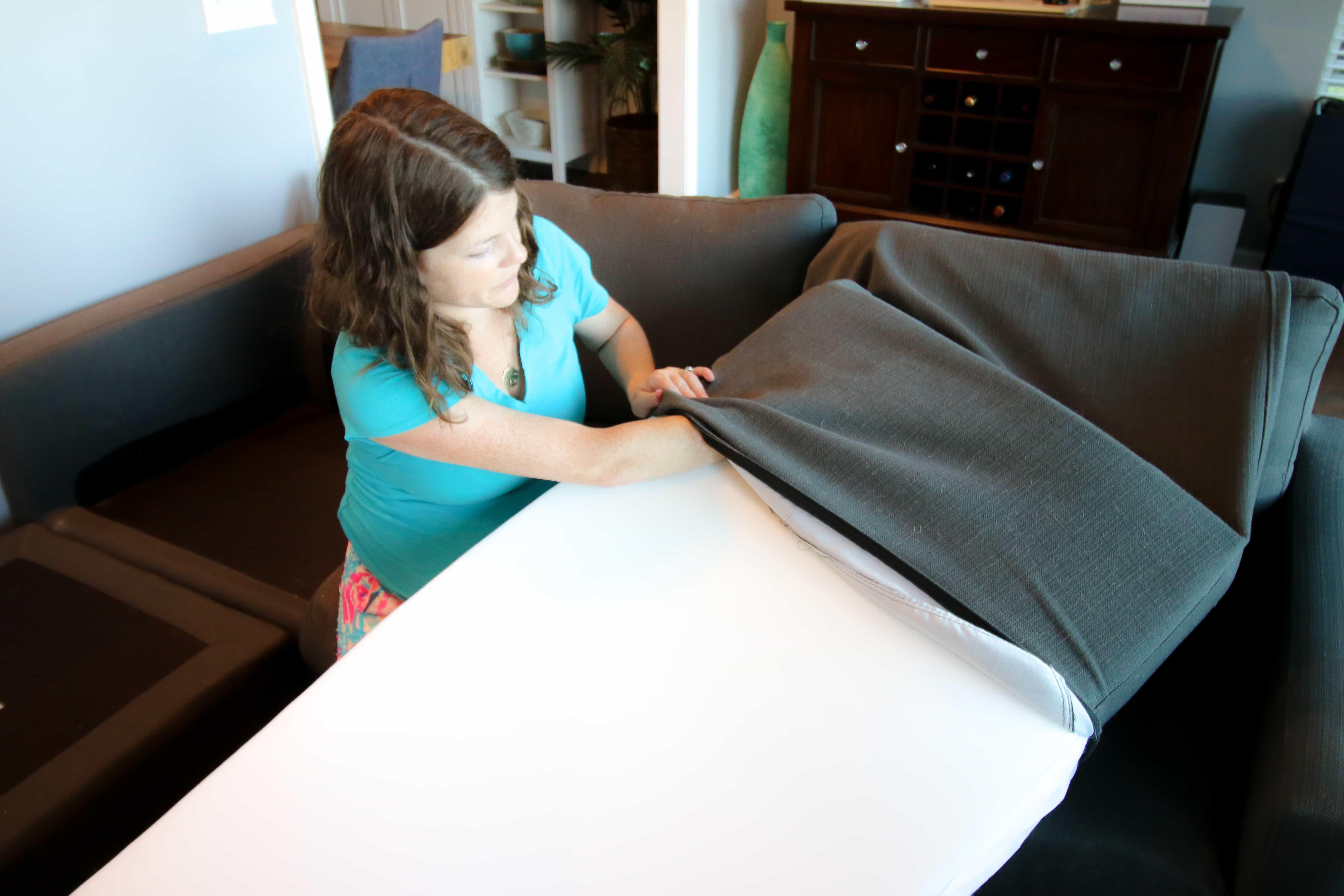 How To Stuff Sofa Cushions Give New