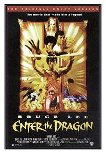 bruce lee enter the dragon poster prints