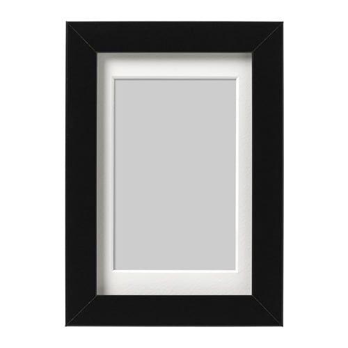 Ribba Black Frame 10x15 Cm Ikea Picture Frame Wall Ikea Ribba Frames Frame