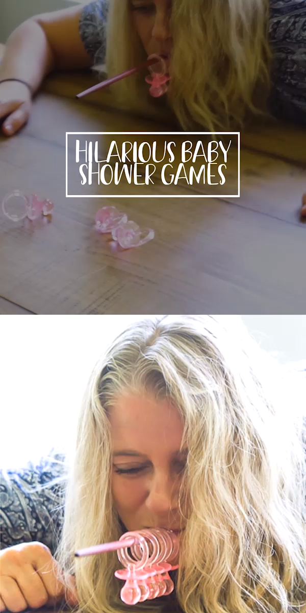 These coed baby shower games are perfect for large groups! Great for girls, for boys, and celebrating both mommy or daddy at the same time! They're funny, unique, and so easy to setup! Play minute to win it style or just play these hilarious games individually!
