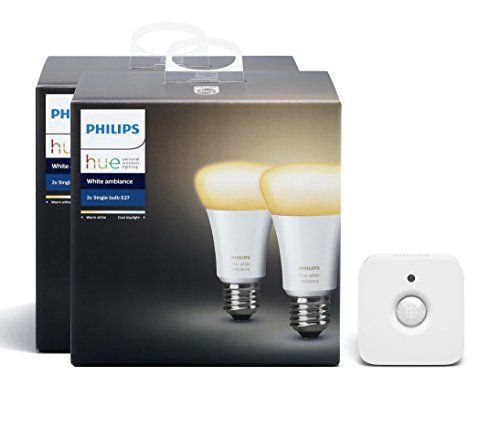 From 43.00 Philips Hue White Ambiance Twin Pack (e27) And