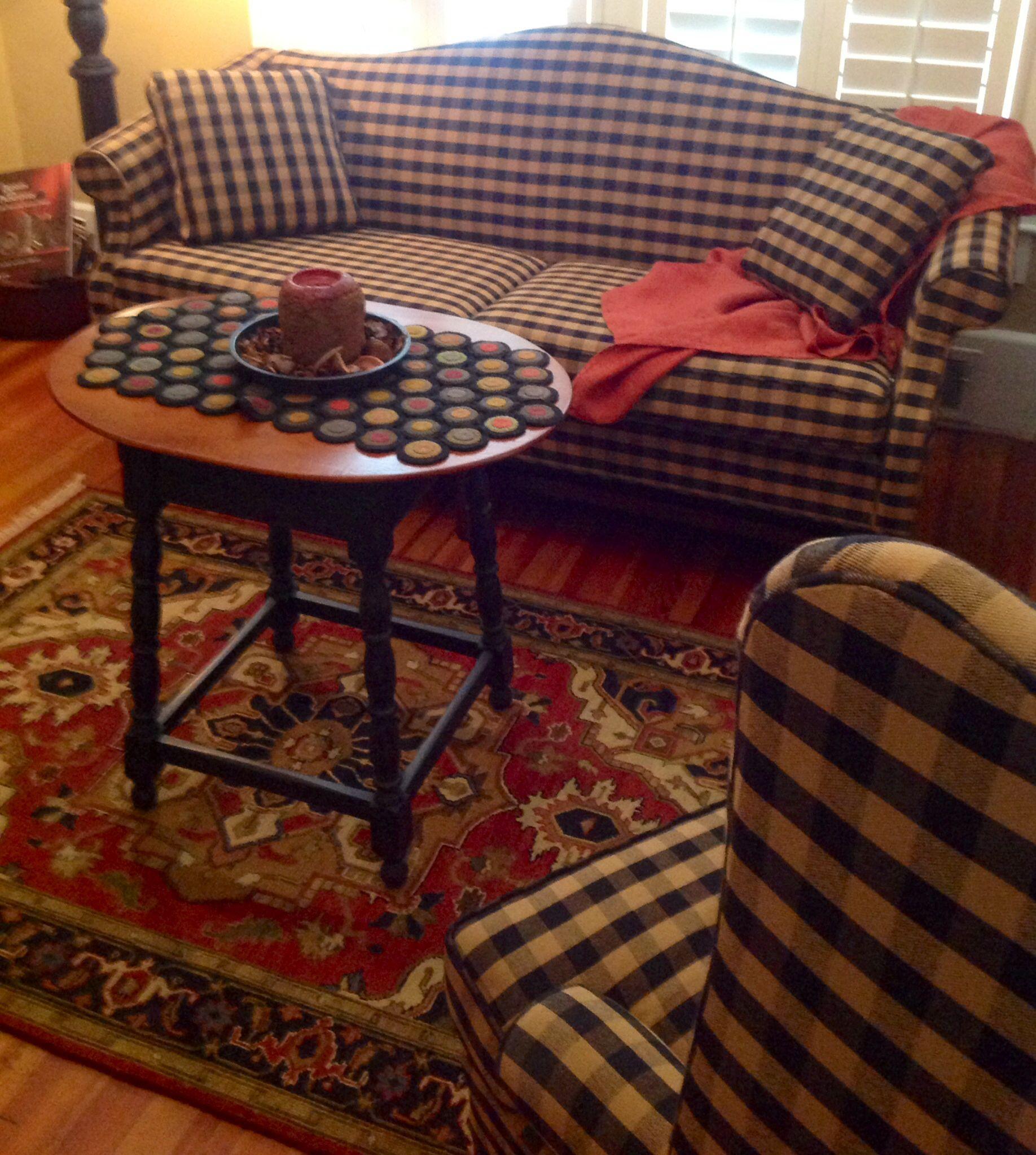 country primitive sofa tables modern tufted leather kathleen joye prim decor rooms pinterest primitives