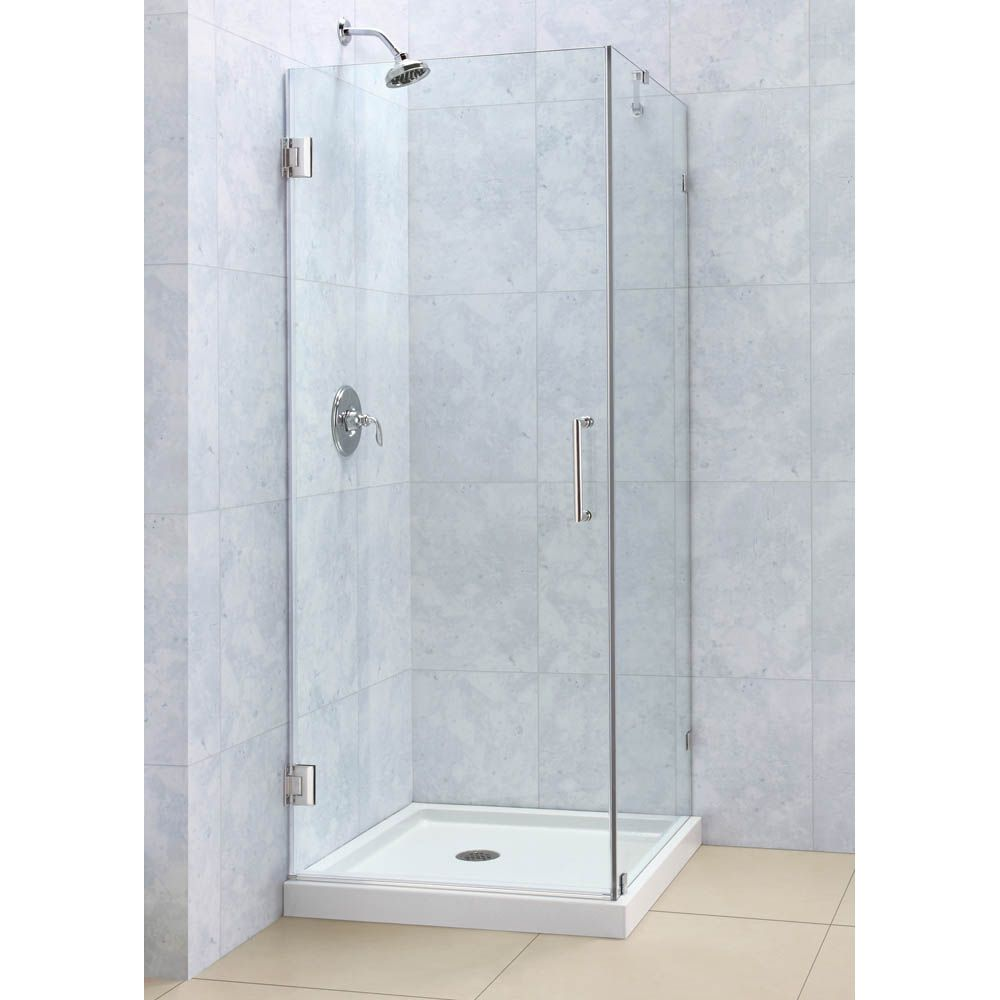 Bath Authority Dreamline Radiance Frameless Hinged Shower
