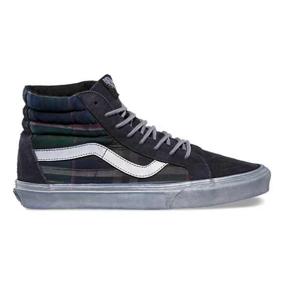 a5ea2bf983 Over Washed Plaid SK8-Hi Reissue CA