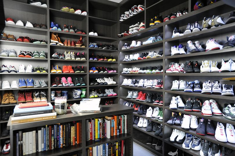 The 15 Best Celebrity Sneaker Closets