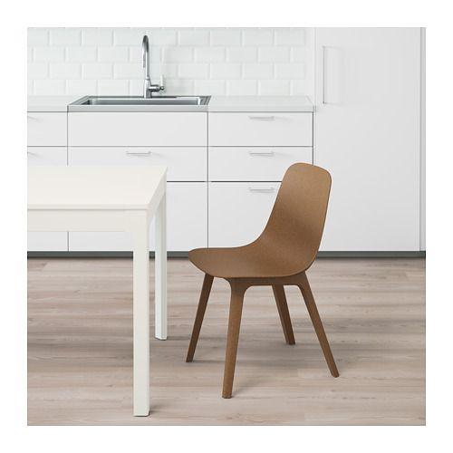 Drehstuhl ikea blau  ODGER Stuhl, braun | Ikea, Stuhl und Gartenmoebel