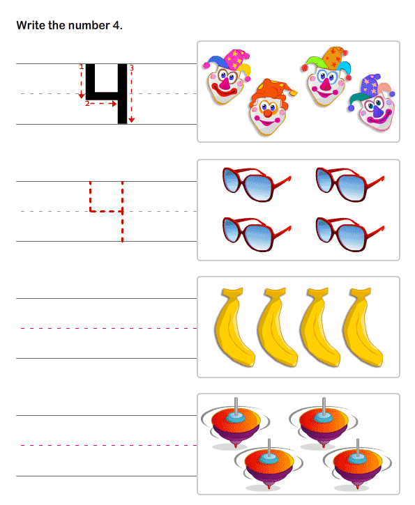 preschool numbers premath learning worksheets – Pre K Number Worksheets