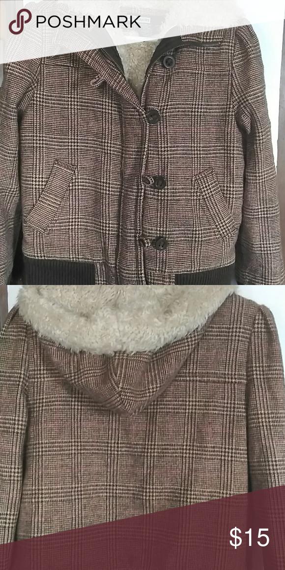 3f3920be9eb7 Fitz Wright plaid winter jacket