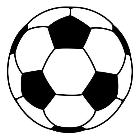 Drawing A Cartoon Soccer Ball Ball Drawing Soccer Ball Circle Time Games