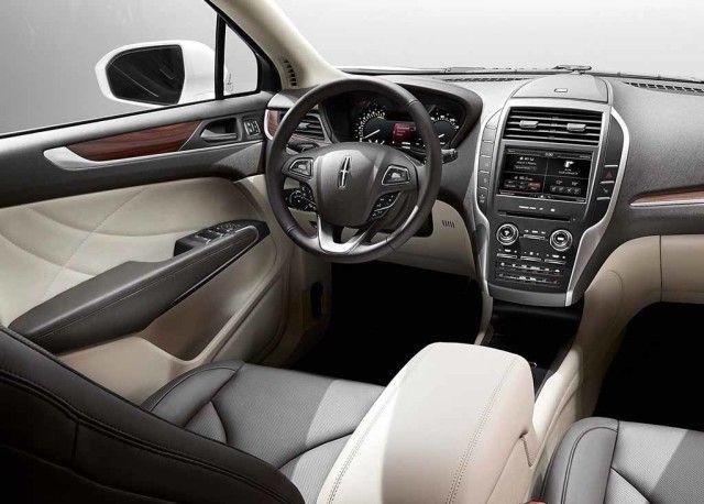2016 Lincoln Mkc Interior View