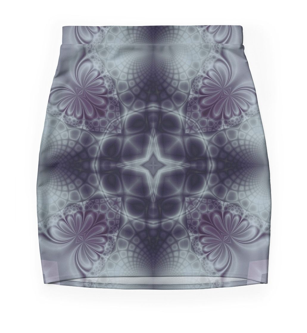 """Pattern ""Fractal symmetry"""" Pencil Skirts by floraaplus 