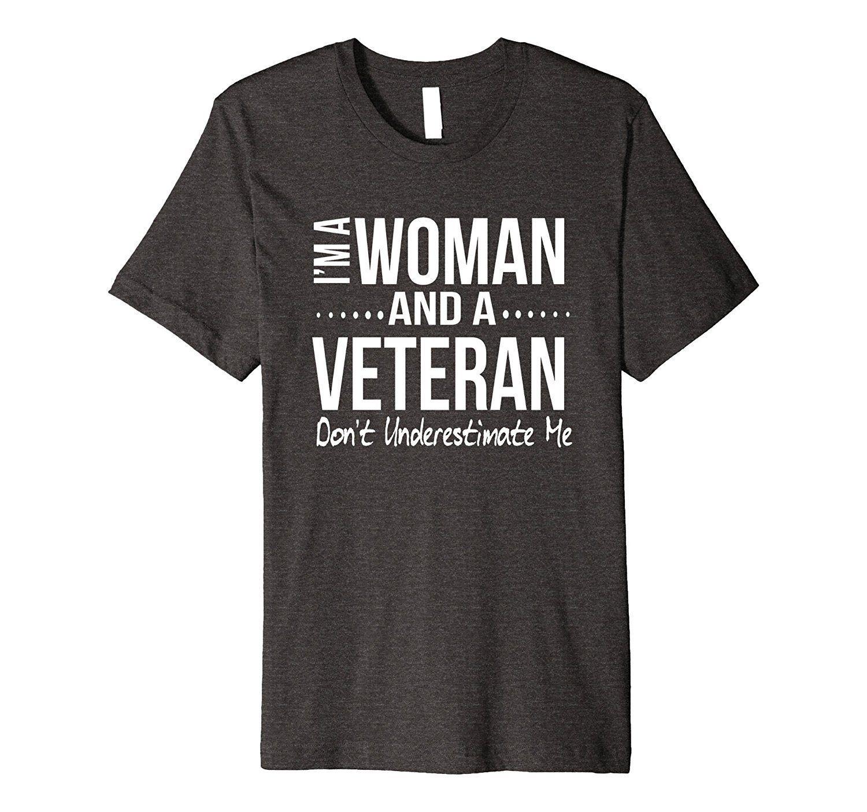 Female Veteran Gift Shirt For Women Former Military Birthday