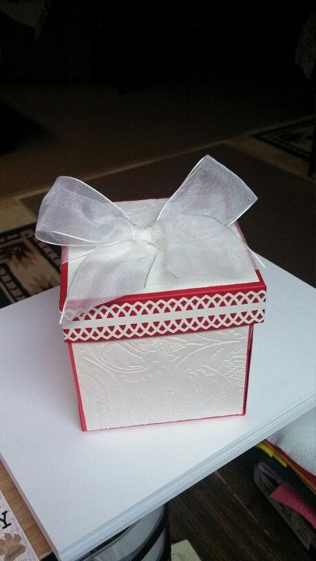 R's Valentine Explosion Box (With images) | Explosion box ...
