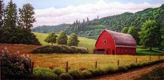 Dreaming of red barns