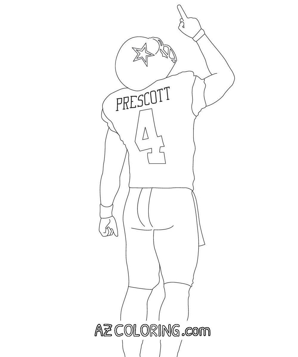 Dallas Cowboys Coloring Pages | Duam