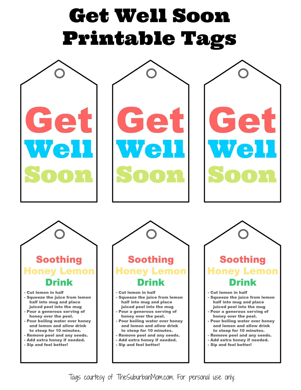 It's just an image of Get Well Soon Printable regarding children's