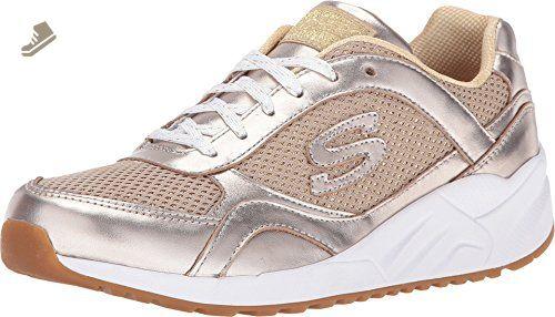 SKECHERS Women's OG 95 Shine On Gold Sneaker 11 B (M