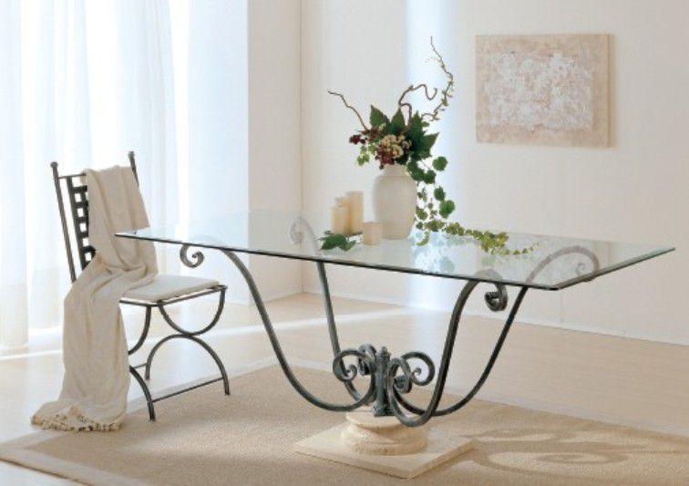 Tavolo Orazio 6596 tavoli cristallo fissi - tavoli | Un AMORE di ...