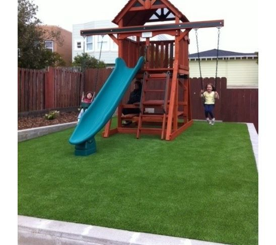 Traditional Outdoor Playsets - Traditional Outdoor Playsets Outdoor Spaces Backyard, Backyard