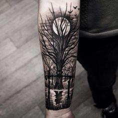 Tree Tattoo Arm Tatuaje Pinterest Tatuaje Arbol Mejor Tatuaje