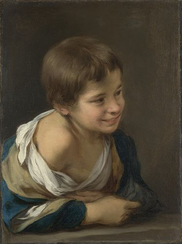 A Peasant Boy leaning on a Sill Artist: Bartolomé Esteban Murillo Date made: 1670-80 Source: www.nationalgalleryimages.co.uk/ Contact: picture.library@nationalgallery.co.uk