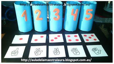 Aula de la maestra Laura: Tubos numéricos