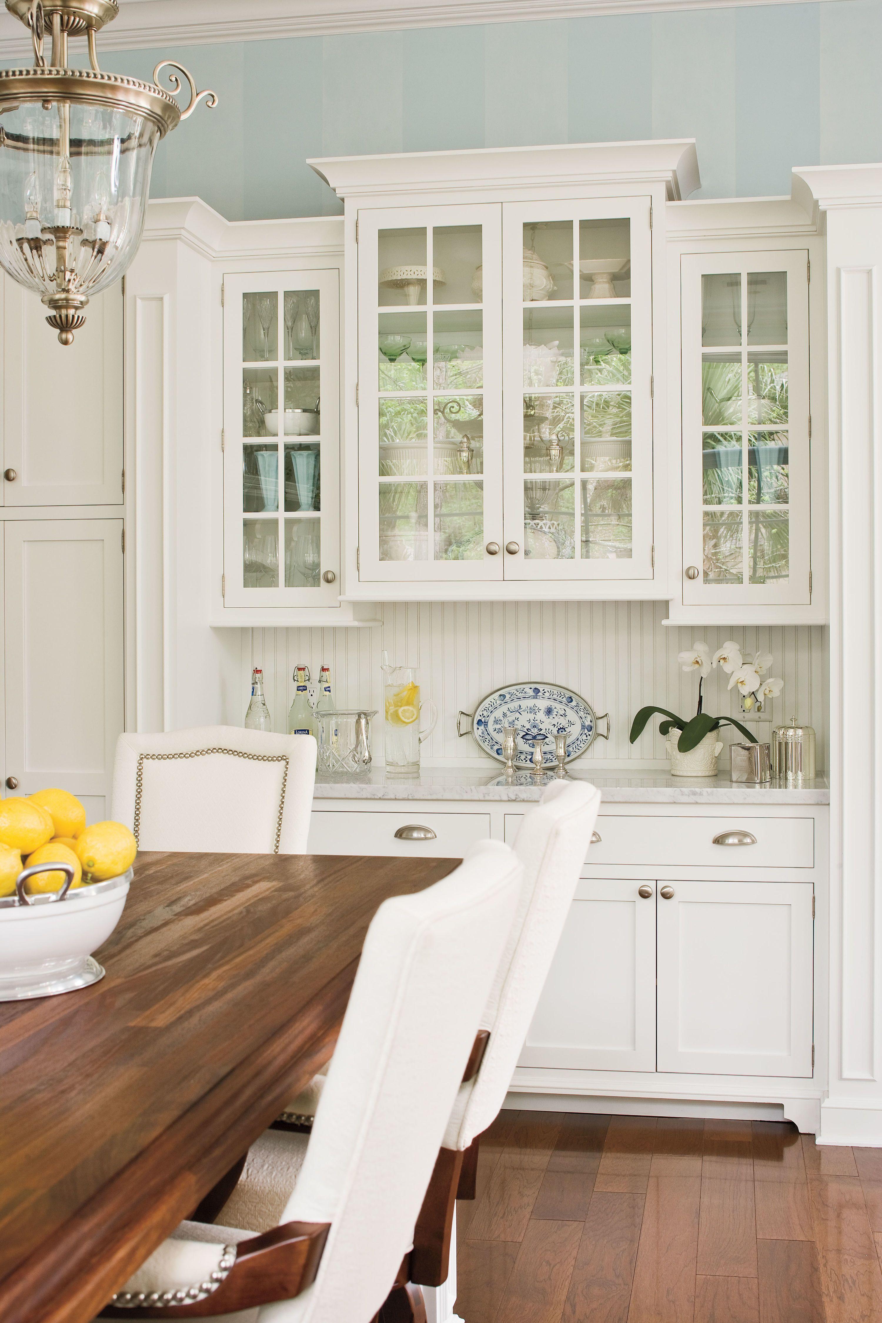 Kitchen cabinets backsplash pinterest kitchens antique white