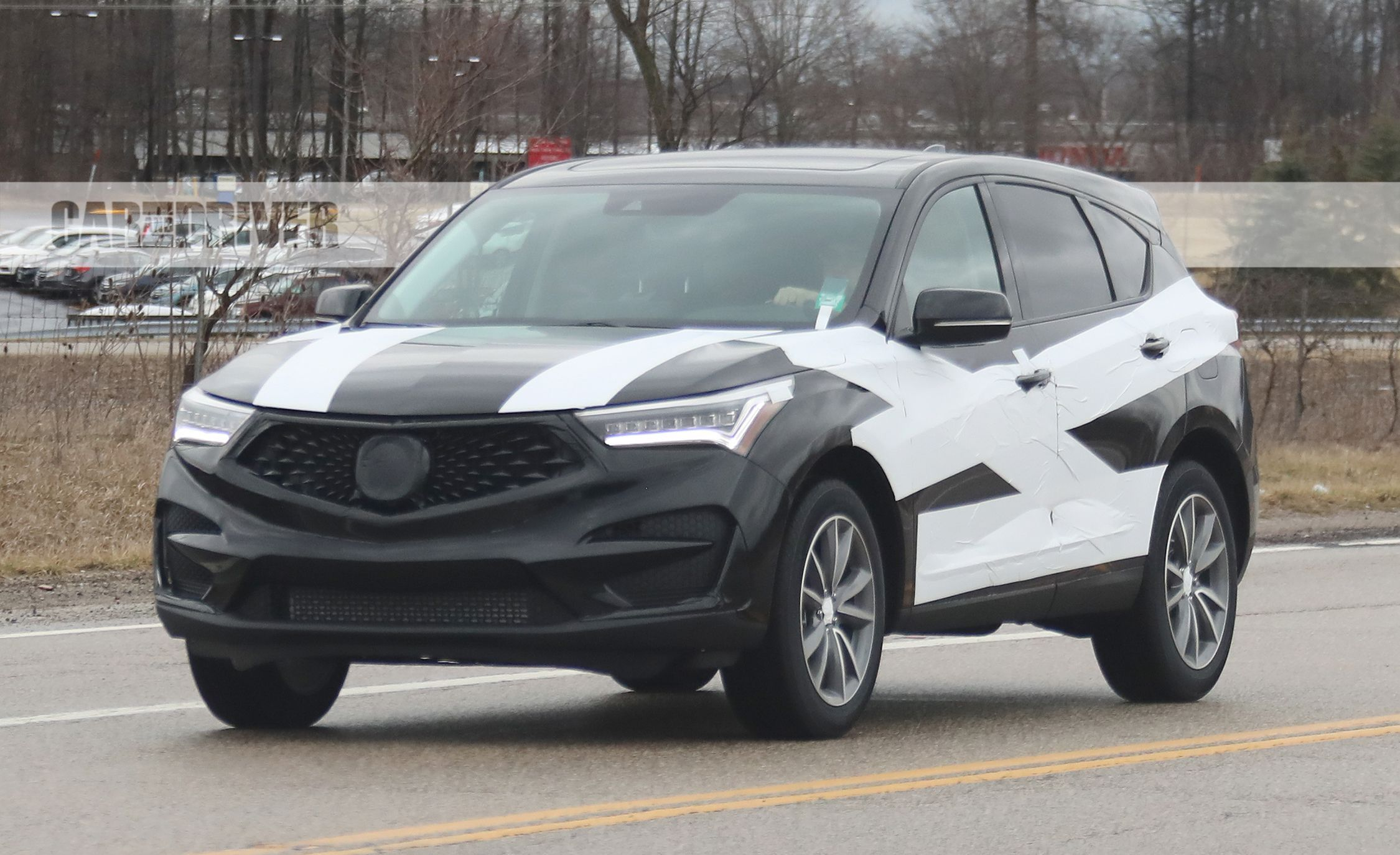 2019 Acura RDX Spied Out and About in Skimpy Camo – Future Cars ...