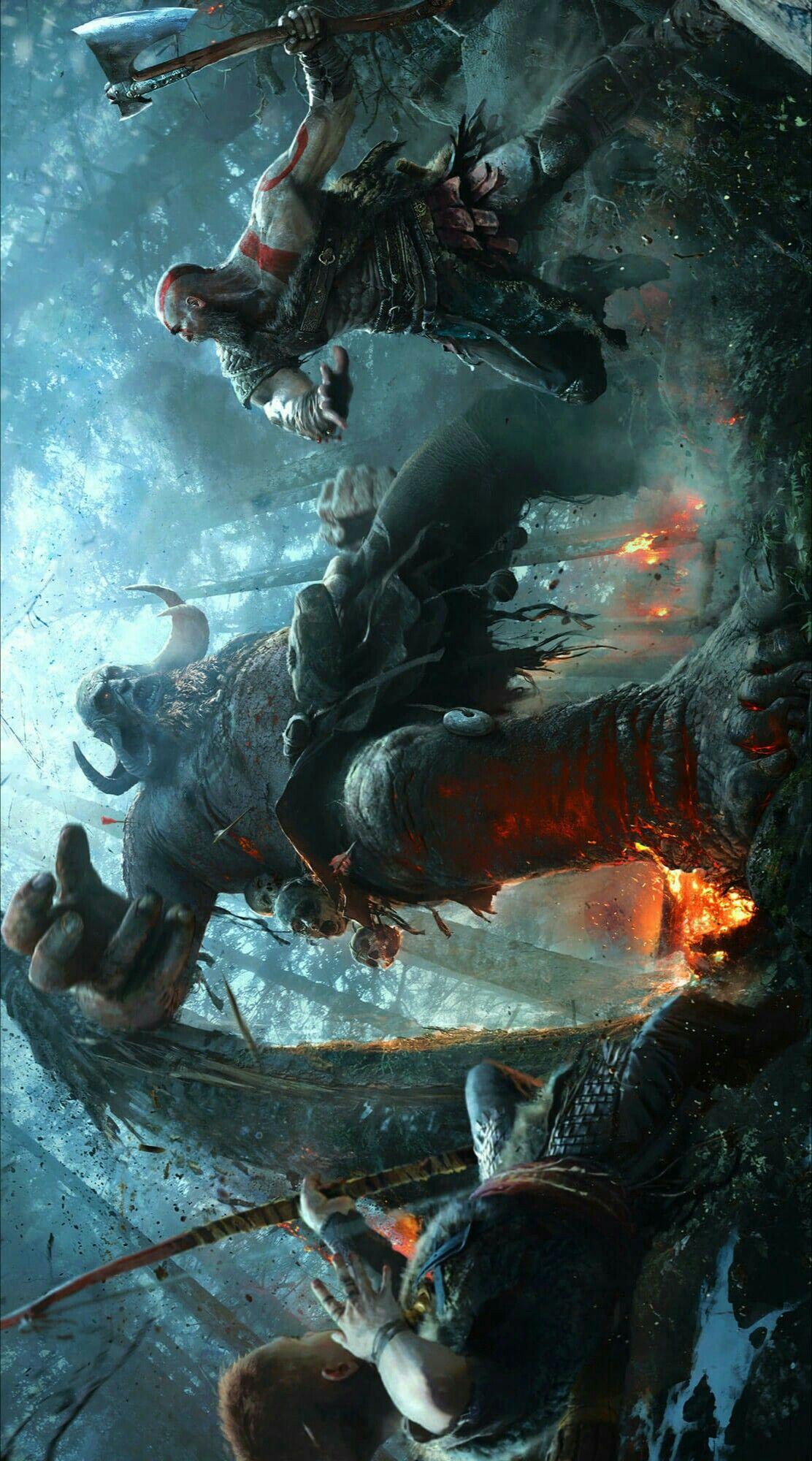 God Of War 4 Concept Art Kratos God Of War God Of War God Of War Series