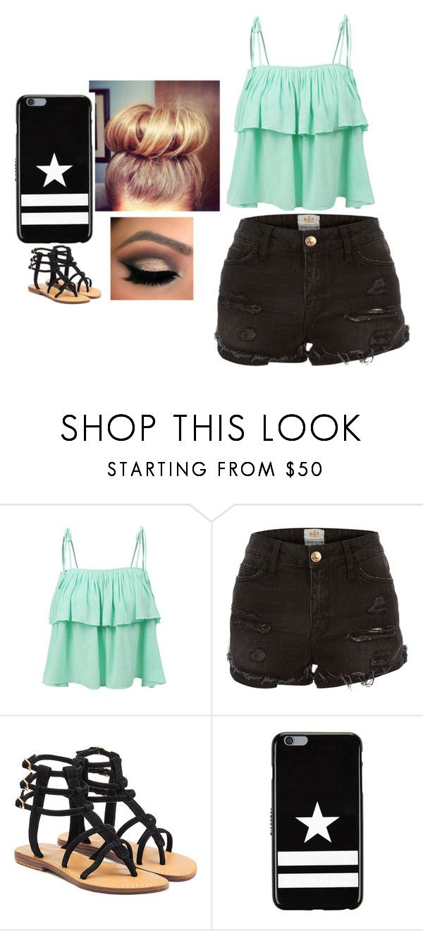 """""""untitled #23"""" by ownworldowngirl ❤ liked on Polyvore featuring interior, interiors, interior design, home, home decor, interior decorating, LE3NO, River Island, Mystique and Givenchy"""