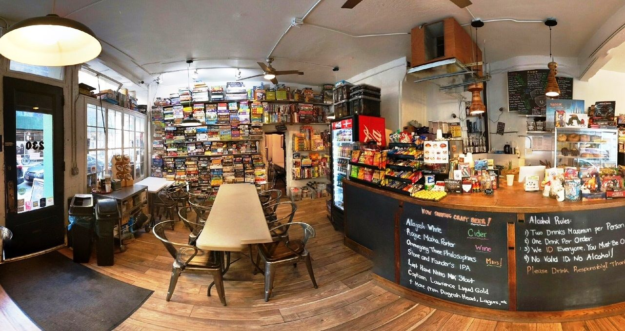 Is The Board Game Cafe The Future Of Gaming Board Game Cafe Game Cafe Board Game Room