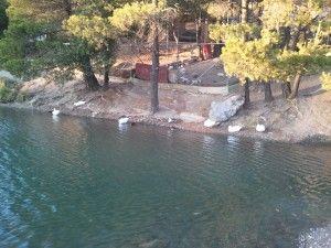 Lake Beletsi Mount Parnitha Attica