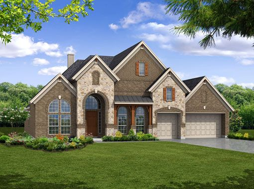 Richwoods Country Exterior Color Schemes Luxury Homes House Elevation