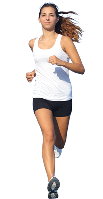 Running Woman Png Image People Cutout People Png People Poses