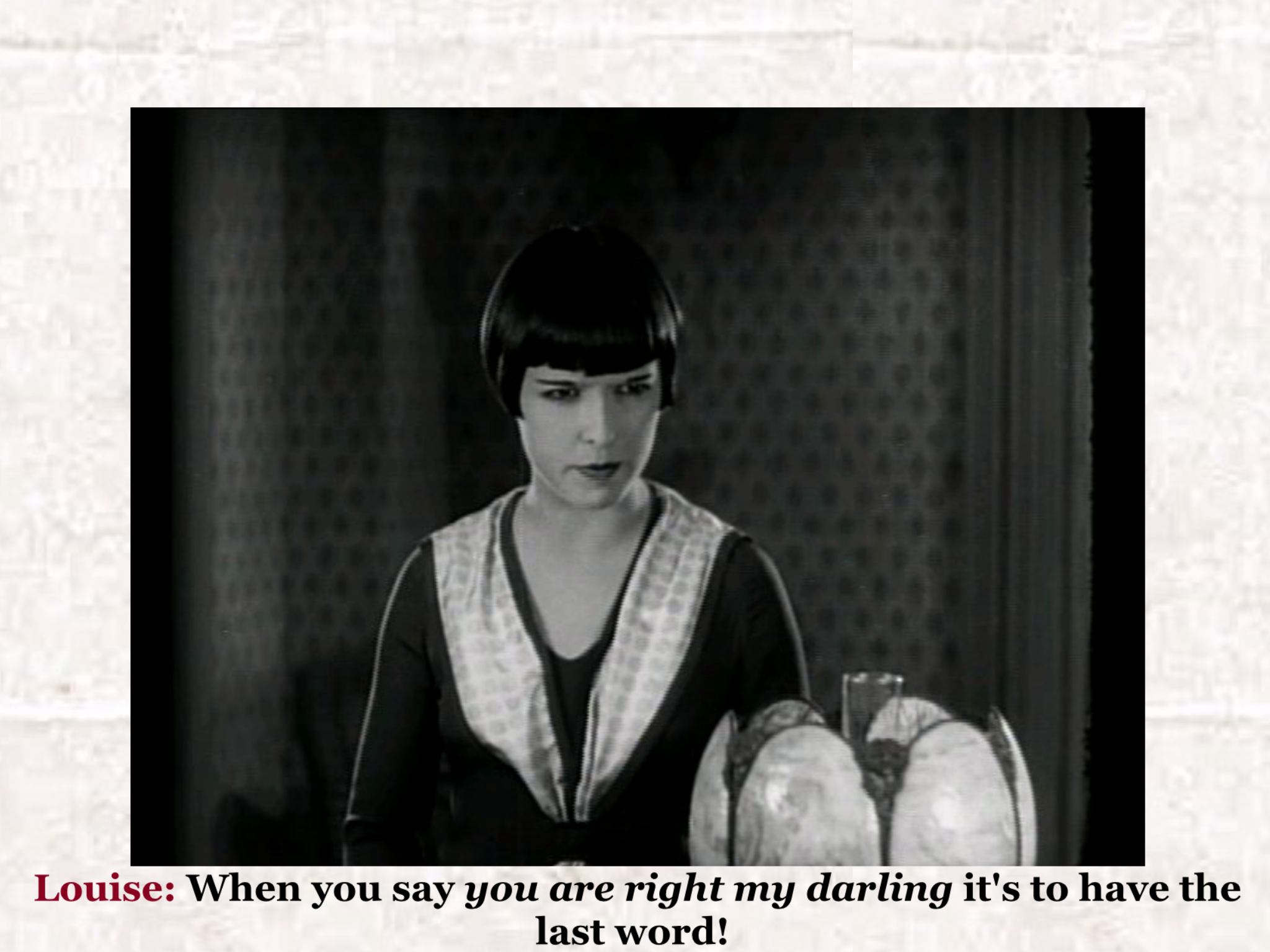 halpa 100% aito vapaa ajan kenkiä Louise Brooks 1926 fun fantasy quote | Louise Brooks ...