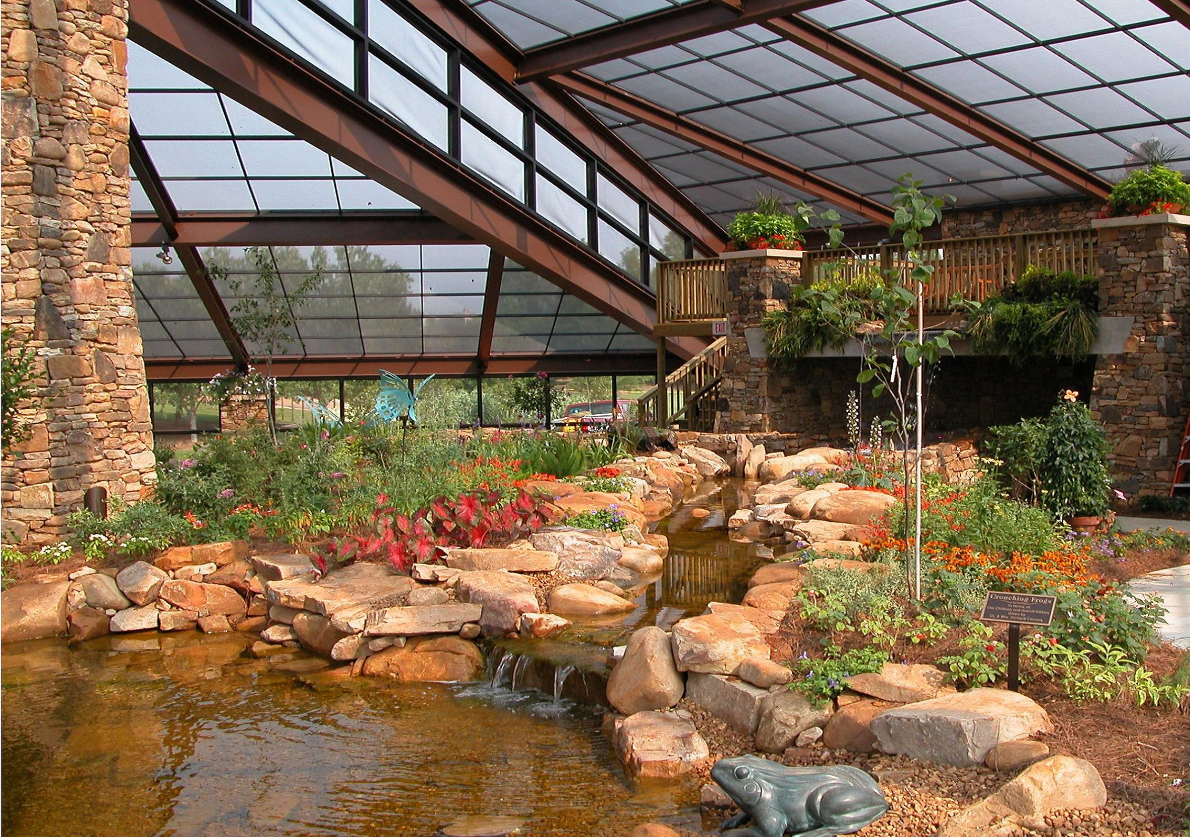 John and Tine Purdy Butterfly House | Strolling through the Garden ...