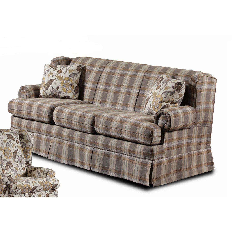 Chelsea Home Furniture 152069-S Tulsa Sofa in Foxtrot Mocha