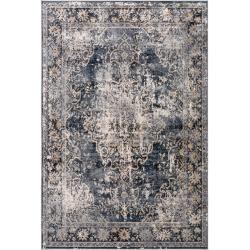 Photo of benuta Teppich Yara Beige/Blau 160×230 cm – Vintage Teppich im Used-Look benuta
