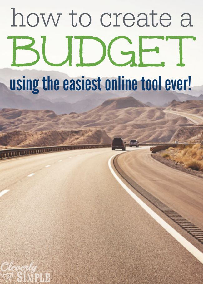 budget online tool