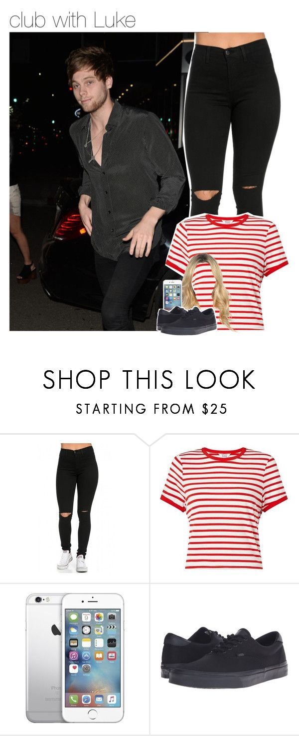 """club with Luke"" by dipx1d ❤ liked on Polyvore featuring Miss Selfridge and Vans"