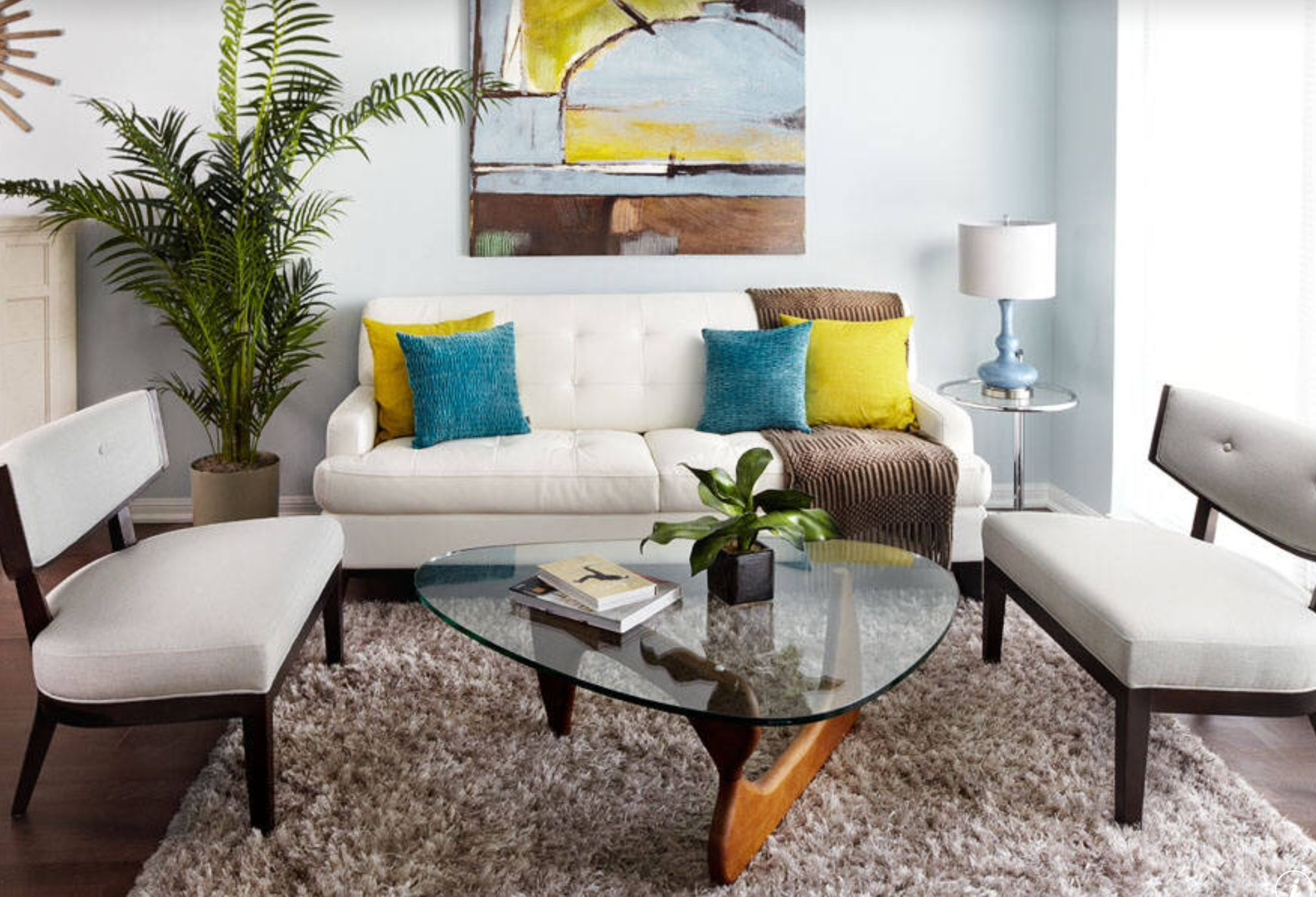 Add some color to your style maybe in your cushions or in your wall