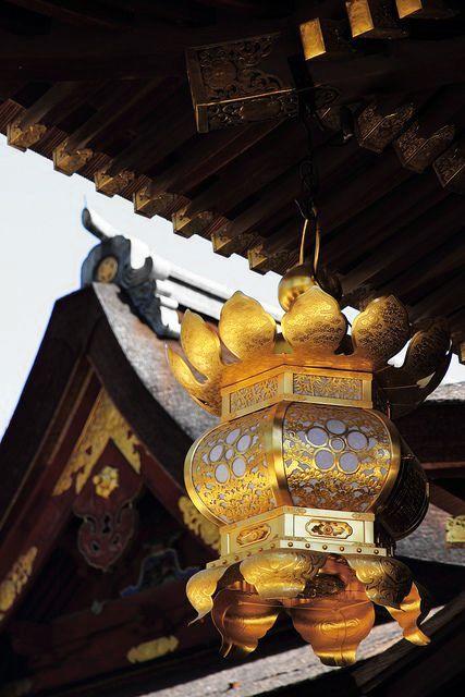 "thekimonogallery:  "" Traditional Lantern, Kitano-Tenmangu Shrine, Kyoto, Japan. Photography by Teruhide Tomori on Flickr  """
