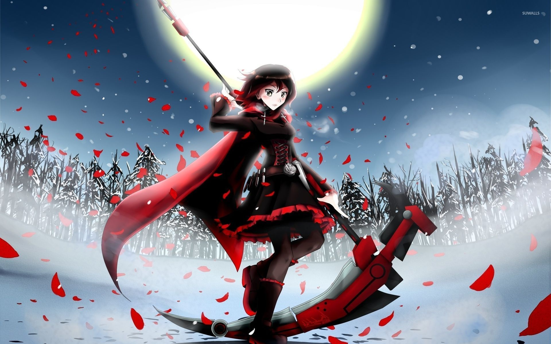 Ruby Rose RWBY wallpaper Anime wallpapers Anime