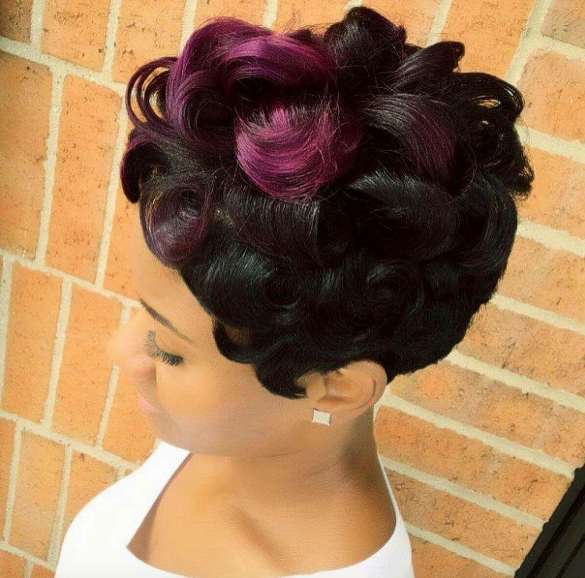 Pin by jeanette little on hair affair pinterest black hairstyles