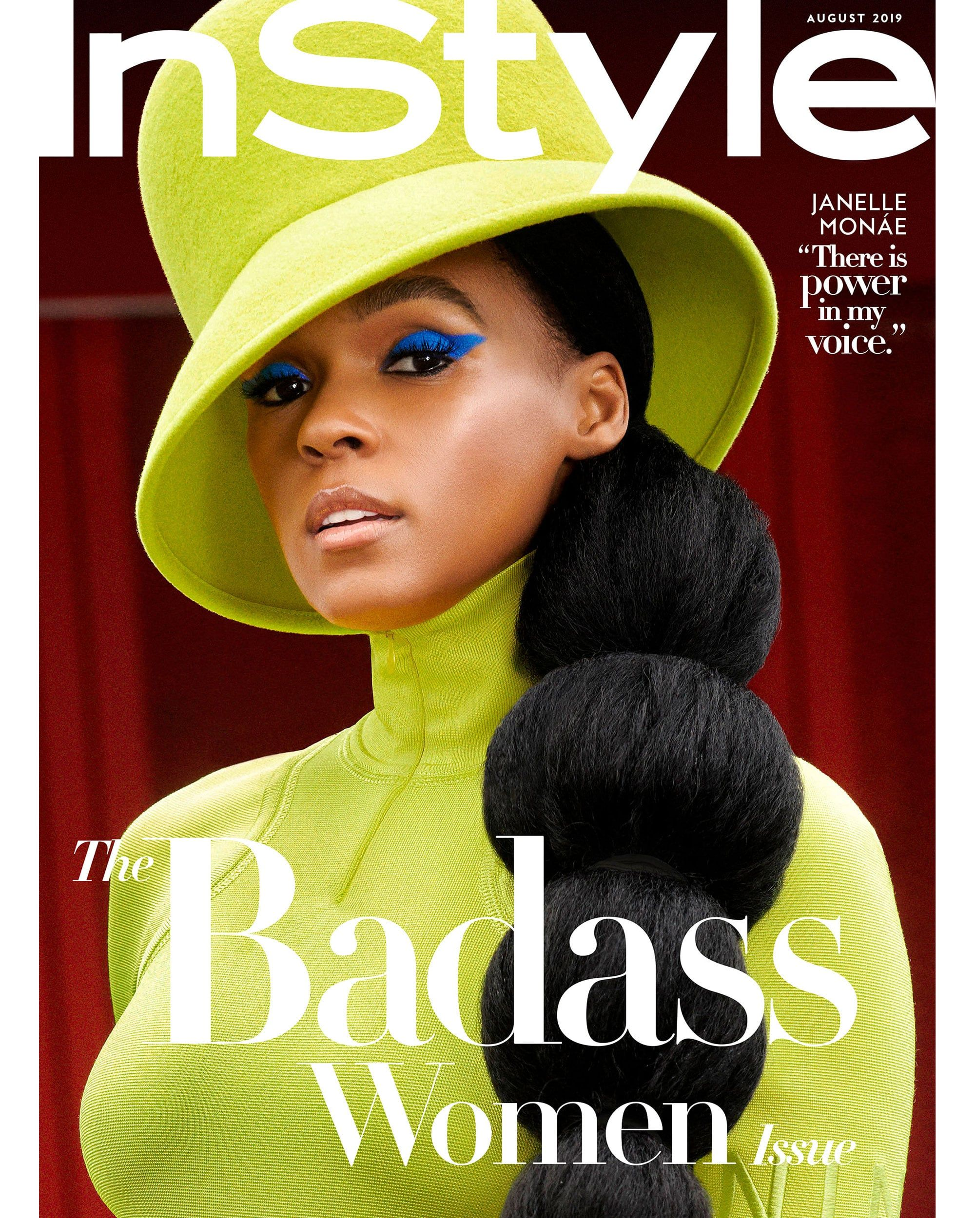 Follow Janelle Monae S Lead With The Best Summer Hairstyle For Extreme Heat Janelle Monae Try On Hairstyles Instyle