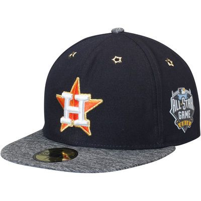 c1fbad110dbfa ... reduced houston astros new era 2016 mlb all star game patch 59fifty  fitted hat navy heathered